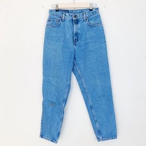 Vintage Levi's Mom Jeans High Waist Tapered Leg